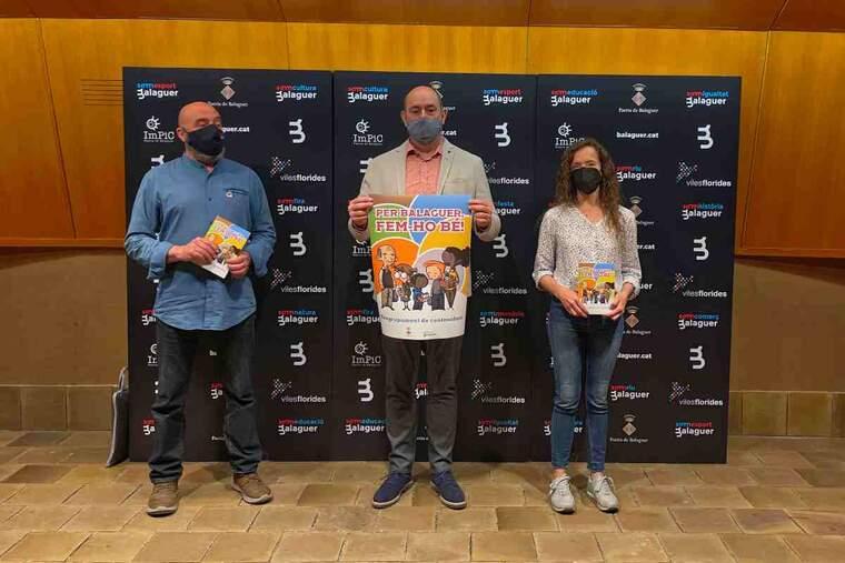 Presentació de la campanya de reciclatge a Balaguer