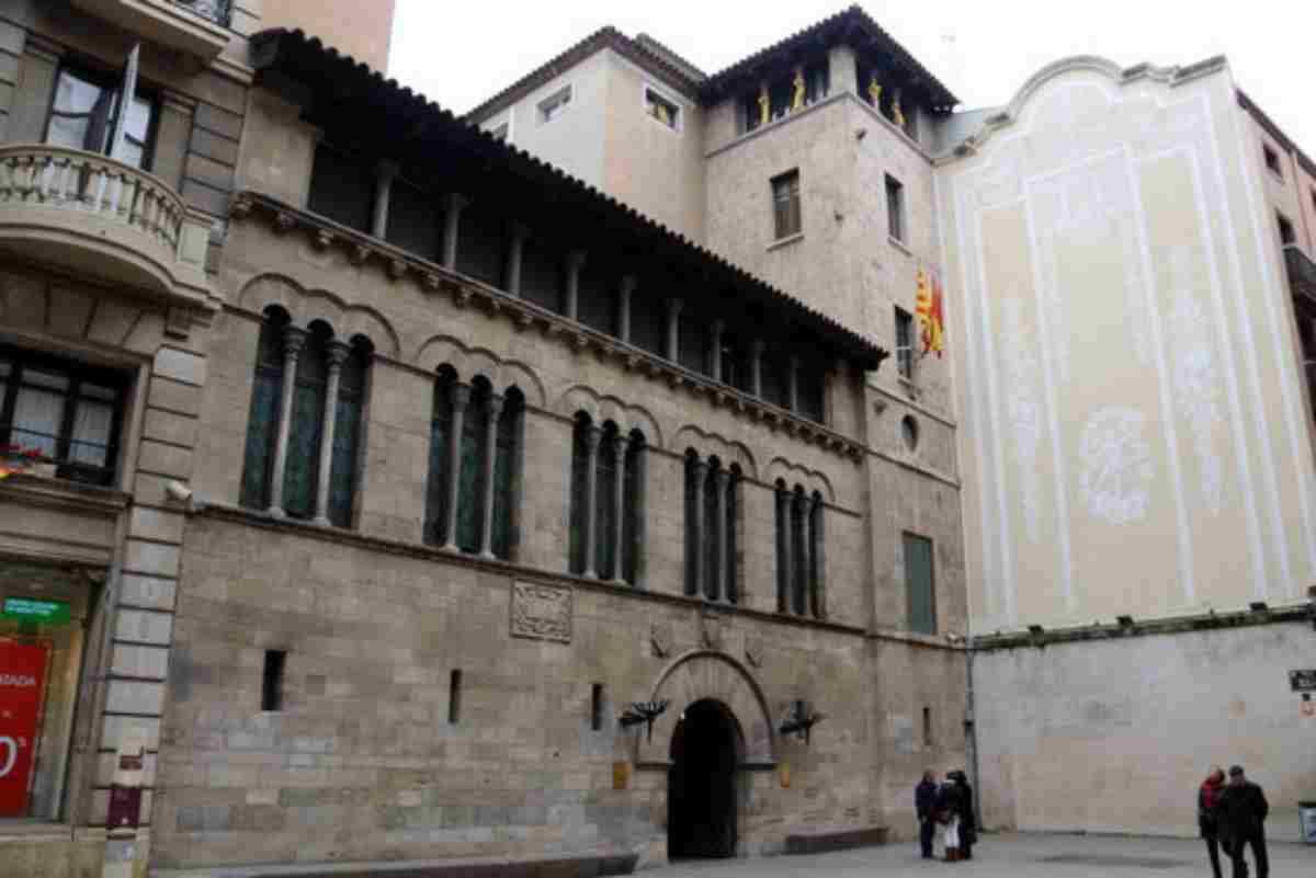Imatge d'arxiu de la façana del Palau de la Paeria de Lleida
