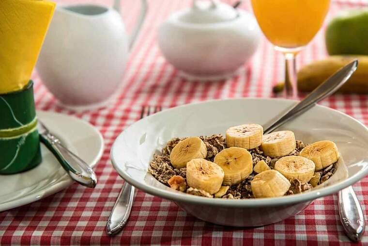 Imatge d'arxiu d'un esmorzar saludable