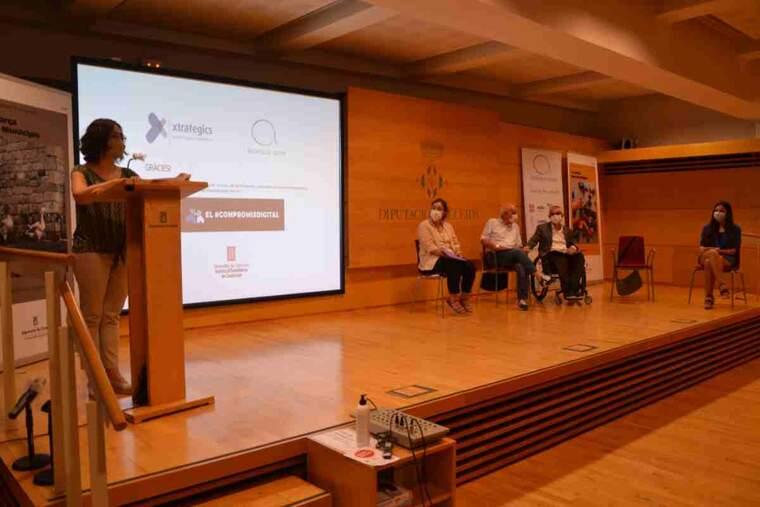 Imatge de la presentació de l'Observatori de la Discapacitat a Lleida