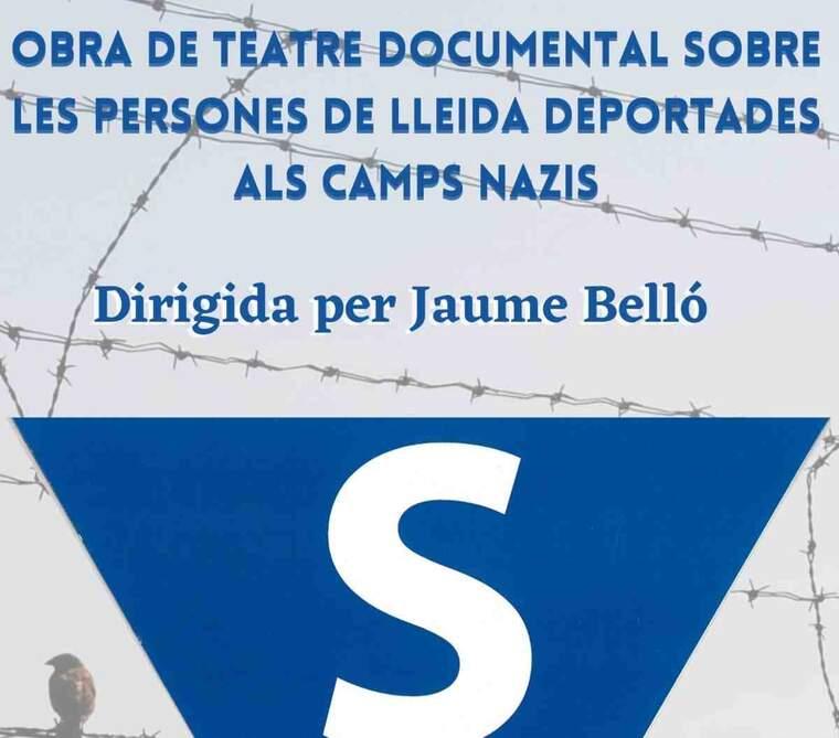 Imatge del cartell de l'obra Ruhe! a Lleida