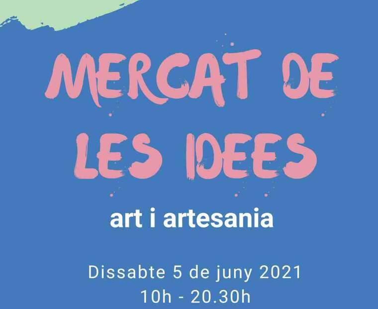 Imatge del cartell del Mercat de les Idees de Lleida