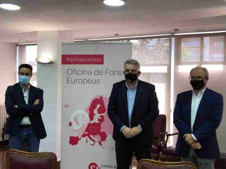 Imatge del president de la Cambra de Comerç de Lleida