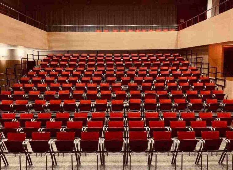 Imatge del teatre d'Alpicat