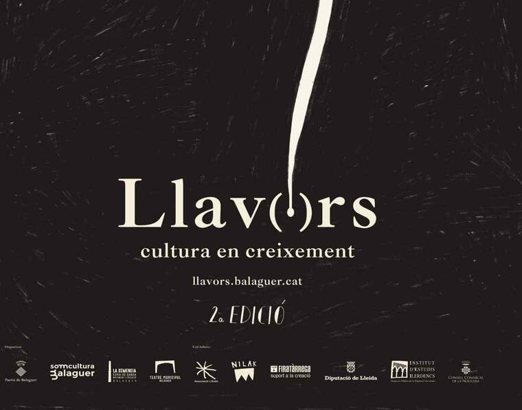 Cartell del festival Llavors de Balaguer