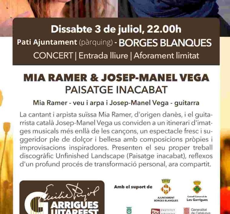 Cartell del Garrigues Guitar Festival