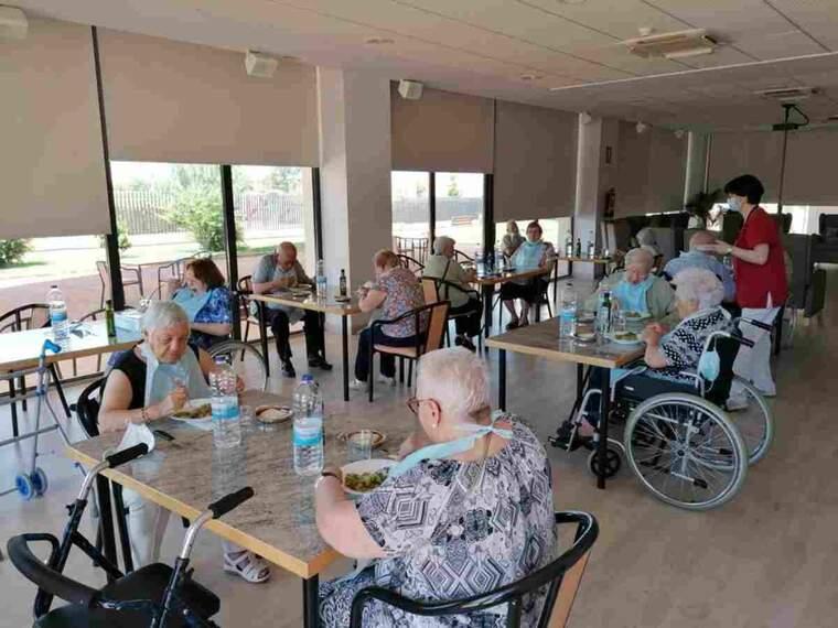 Imatge de la residència per a Gent Gran d'Almacelles