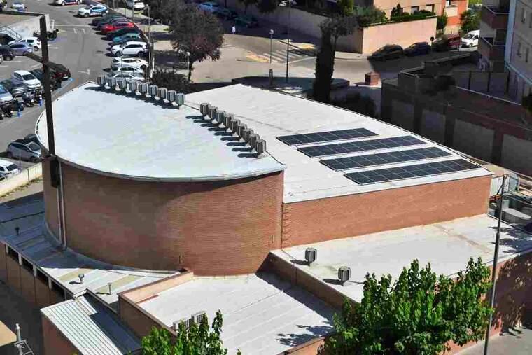 Imatge de l'església del Pilar de Lleida