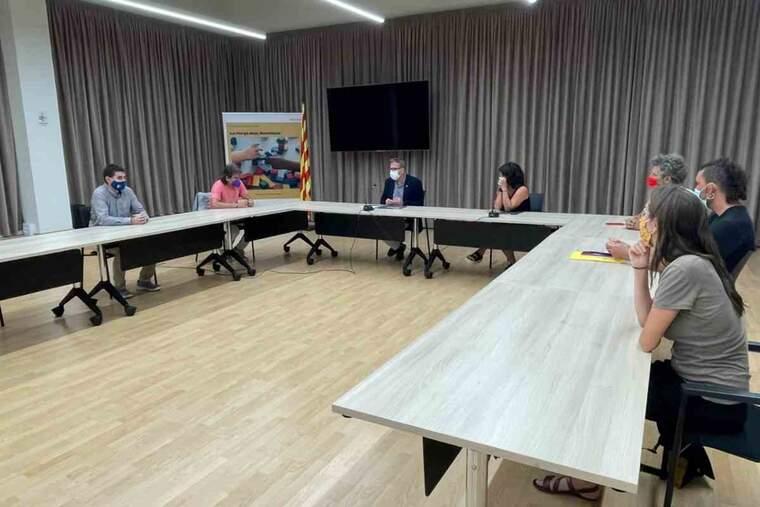Imatge d'una reunió