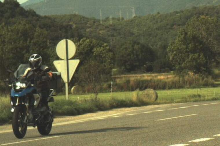 Denunciat penalment un motorista andorrà de 53 anys per circular a 199 km/h per l'Alt Urgell. Imatge del 7 d'agost.