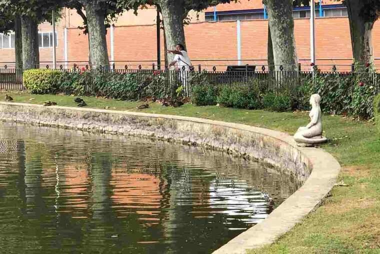 Imatge de la font de la Sirena, de les Borges