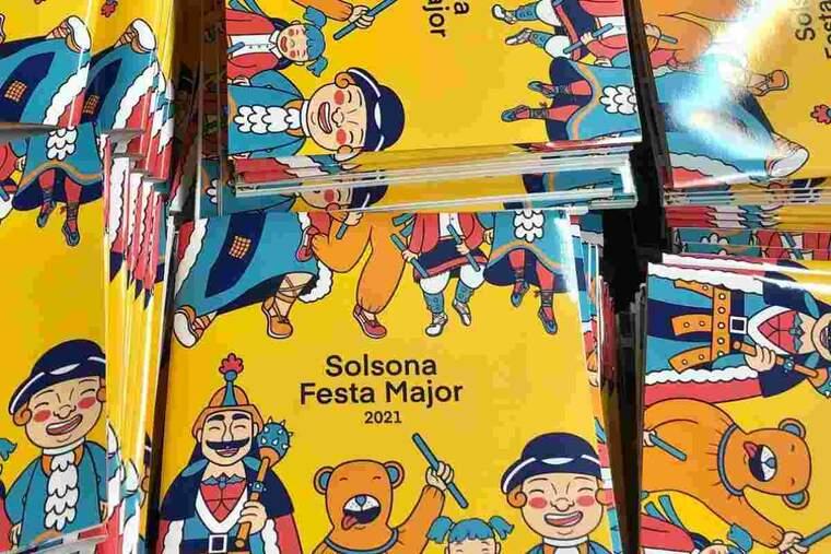 Imatge del programa de la Festa Major de Solsona