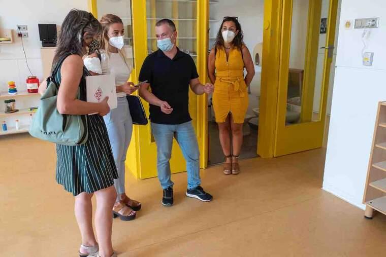 La Paeria inicia un projecte pilot a les Escoles Bressol Municipals per mesurar la qualitat de l'aire. Imatge del 16 d'agost