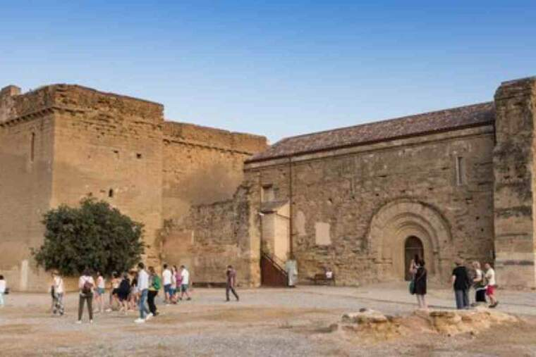 Pla general del Castell dels Templers de Gardeny de Lleida