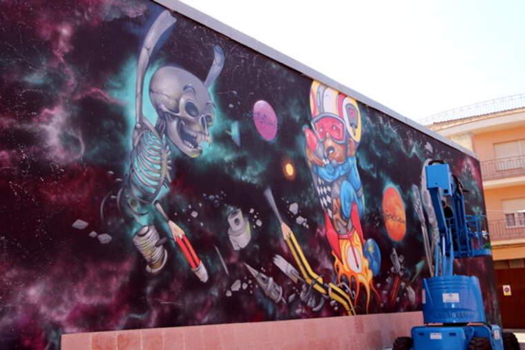 Vuit artistes participaran en el 5è Torrefarrera Street Art Festival entre l'1 i el 9 de setembre