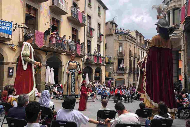 Imatge d'arxiu de la festa major de Solsona
