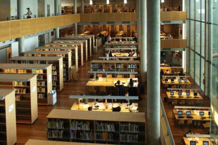 Imatge de la biblioteca de la UdL