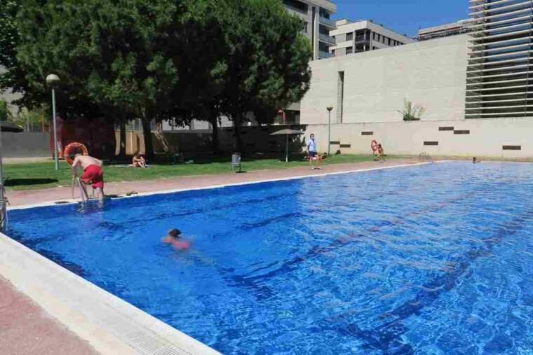 Imatge de les piscines municipals de Cappont