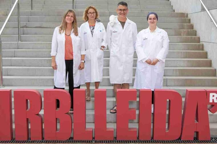 Imatge dels investigadors de l'IRBLleida
