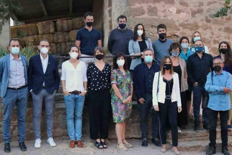 Imatge dels representants del Club Mecenes de FiraTàrrega
