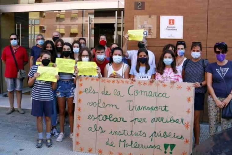 Pla obert de famílies afectades per la manca de transport escolar al Pla d'Urgell
