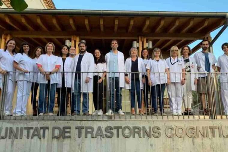 Pla obert dels investigadors de la Unitat de Trastorns Cognitius de l'Hospital Universitari de Santa Maria de Lleida