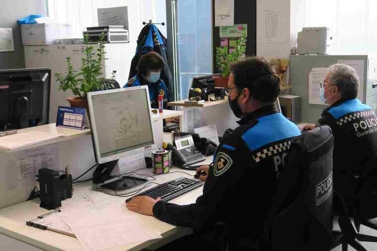 Imatge de la sala de la Urbana de Lleida