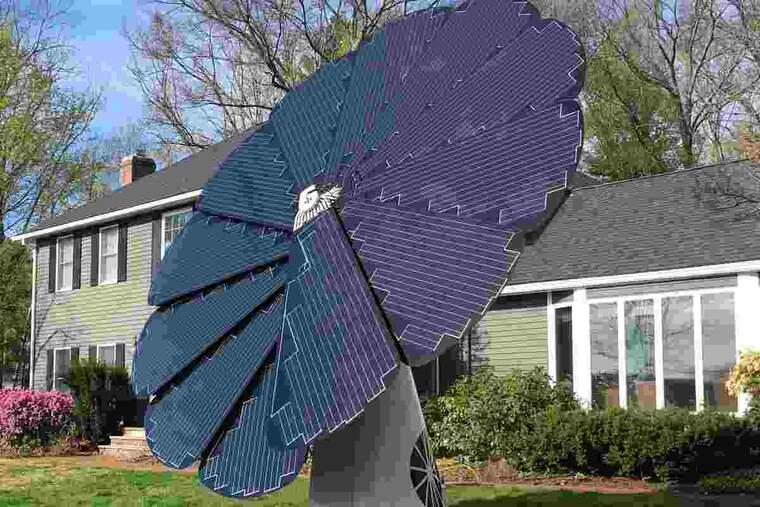 Imatge dels nous panells solars que es presentaran a Municipàlia