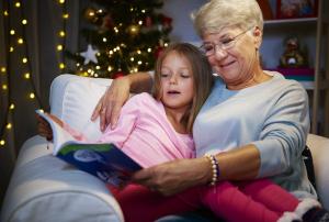 abuela y su nieta