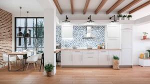Diseño de sala y cocina