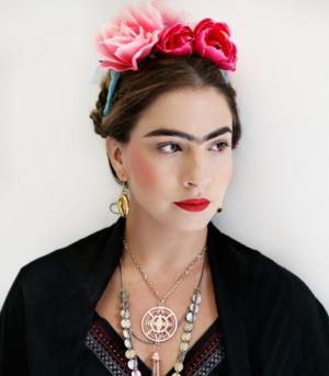 Disfraz casero de Frida