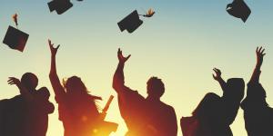 Niños graduados