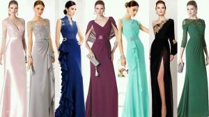 Opciones de vestidos