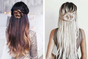 2 lindas opciones de peinados semirecogidos