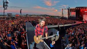 Dave Grohl en concierto