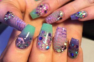 diseños de uñas playeras