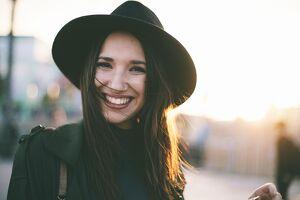 outfit de invierno con sombrero