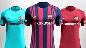 Uniformes del Barça