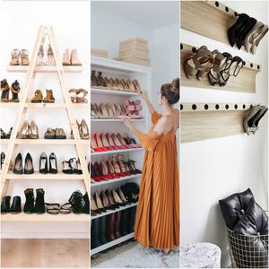 zapatos de mujer bien almacenados