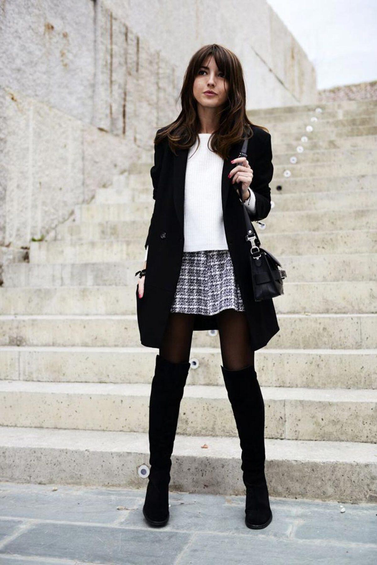 super especiales nuevo concepto como escoger Las mejores opciones de outfit con falda para invierno