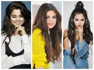 Peinados de Selena Gómez