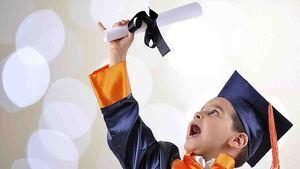 Frases para felicitar la graduación a los más pequeños.