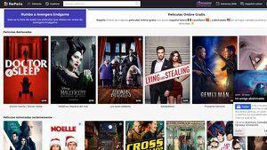 Catàleg de pel·lícules disponibles al lloc web Repelisgo