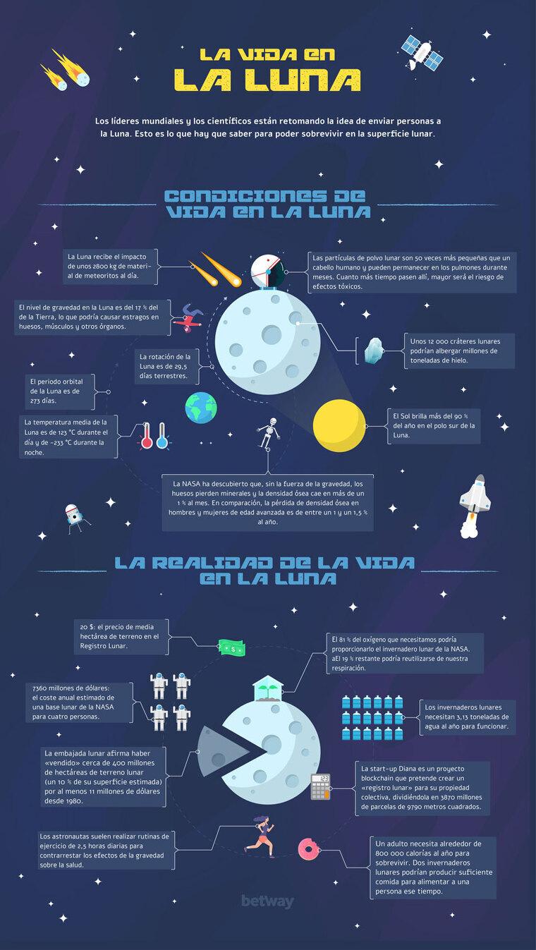 Infografía Luna