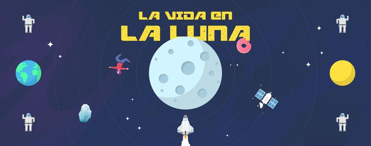 Ilustración Luna