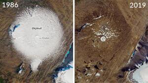 Okjökull, la primera glacera a desaparèixer d'Islàndia