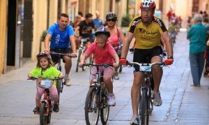 La Festa de la Bicicleta de Valls en una imatge d'arxiu.