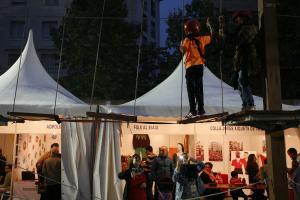 La plaça del Pati ha accollit, un any més, la FiraCastells.