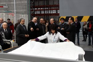 Fluvitex és una empresa autòctona que es va implantar a Valls l'any 2013.