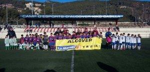Activitat a favor de la Marató organitzada pel Club Esportiu Alcover.